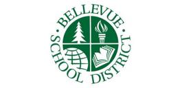 Bellevue School District logo.