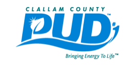 Clallam County PUD logo.