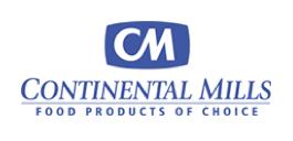 Continental Mills logo.