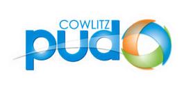 Cowlitz County PUD logo.