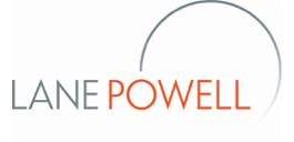 Lane Powell logo.