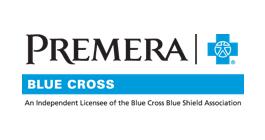 Premera Blue Cross logo.