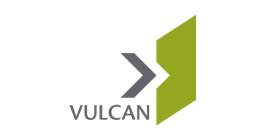 Vulcan logo.