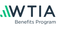 WTIA Benefits Program logo.